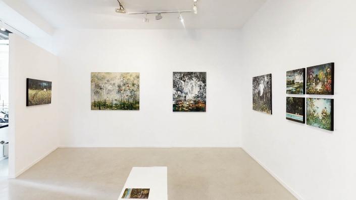 Exposition de Roux-Fontaine les chemins invisibles