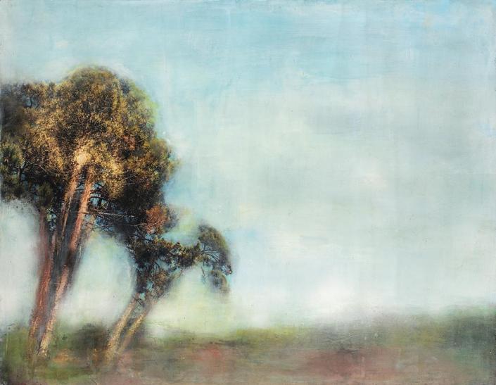 Les arbres - 116 x 89 cm - 2021