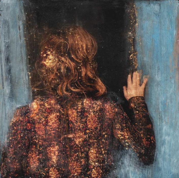 Série « un moment pour soi » - 30 x 30 cm - 2021