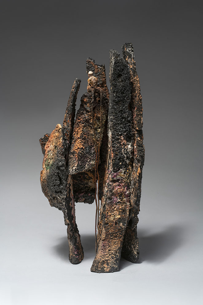 Pointe rocheuse - 2021 - H 45 cm