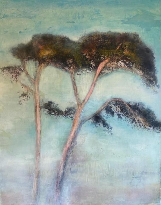 Sandrine Paumelle - Un certain regards - 150 x 120 cm