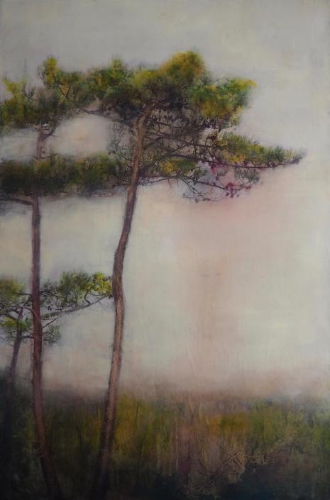 Silence - 150 x 100 cm - Technique mixte