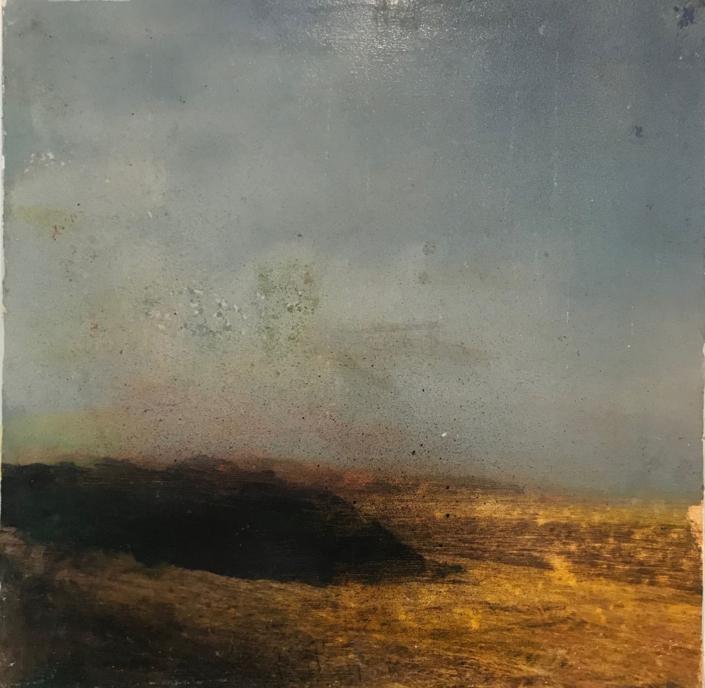 Une belle terre - 30 x 30 cm - Technique mixte - 2019