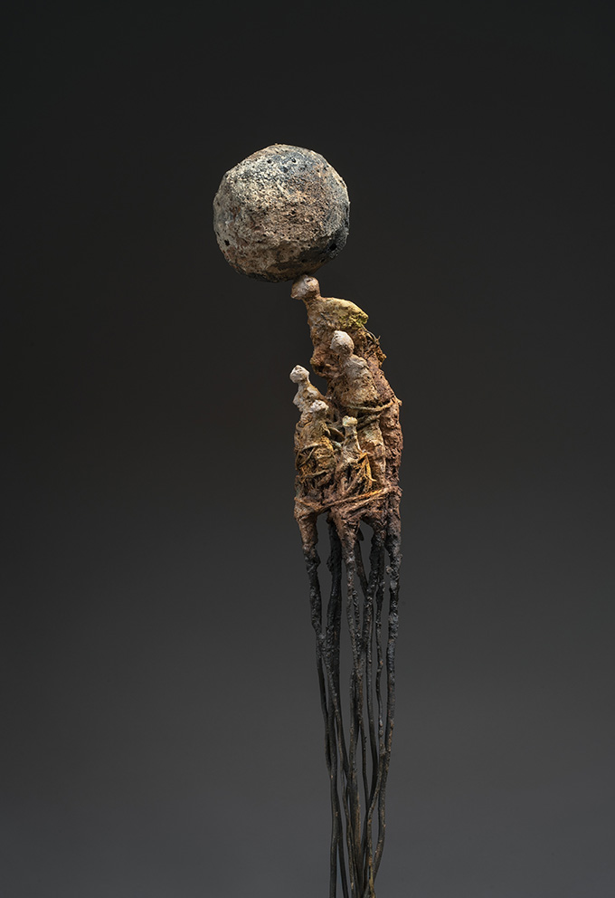 Marc Perez -Dominium 2 - h 75 cm - Technique mixte - 2020