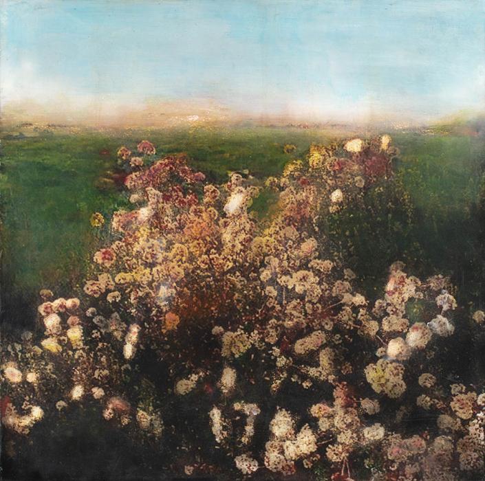 floraison - 100 x 100 cm