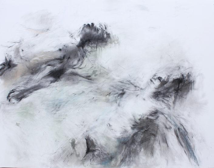 D.Maes - Floating II - 2011 - dessin - 116 x 148 cm