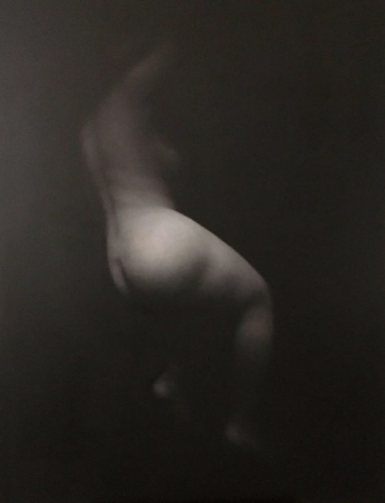 Grand nu - 116 x 89 cm - Huile sur toile