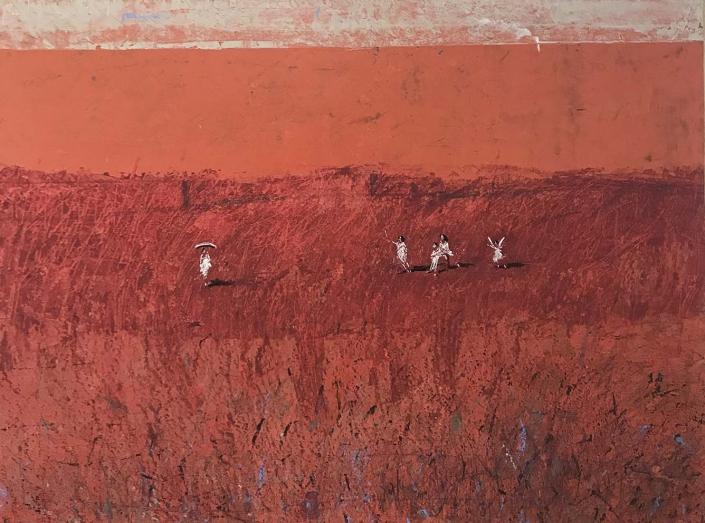 L.HOURS - Au loin - 67 x 90 cm