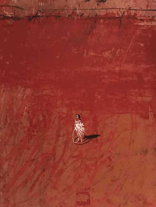 L.HOURS - Le cerceau - 33 x 27 cm