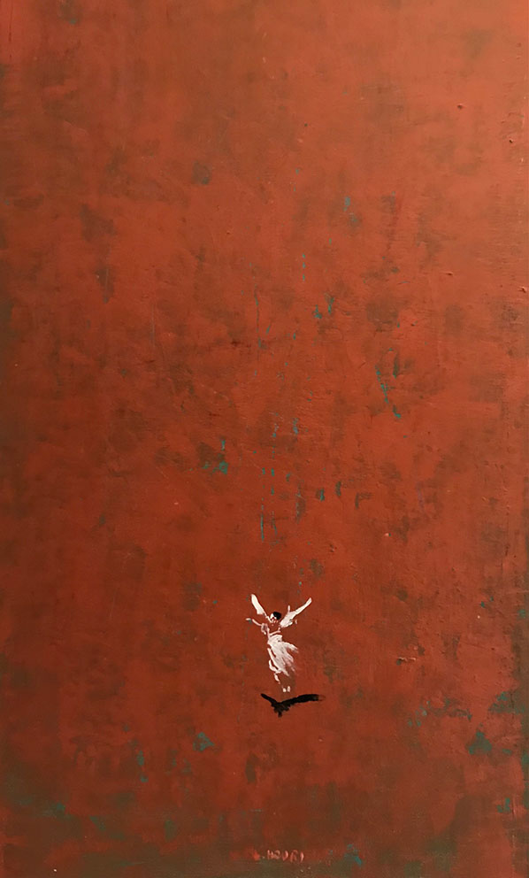 L.HOURS - Les petites robes blanches (A) - 55 x 33 cm