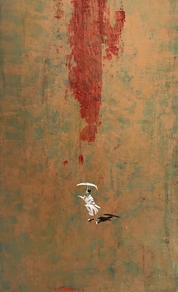 L.HOURS - Les petites robes blanches (C) - 55 x 33 cm