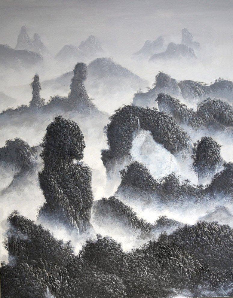 Pachamama - 146 x 114 cm - Acrylique sur toile