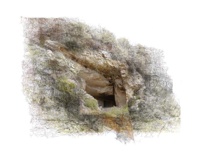 B.Flachot - A-A-refuge#01 - 85 x 110 cm