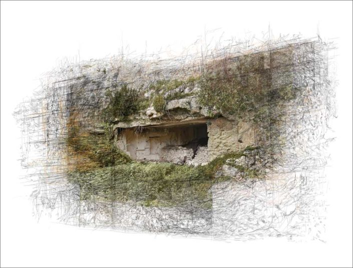 B.Flachot - A-A-refuge#02 - 110 x 85 cm