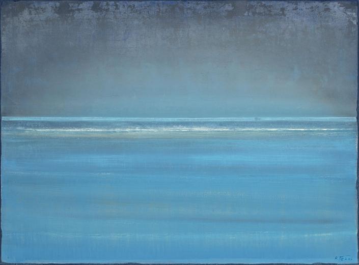 Banc de sable - 60 x 81 cm - Acrylique sur papier marouflé sur toile - Acrylic on paper / Canvas