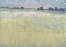 FERRI - Le point du jour - 146 x 114 cm - acrylique sur papier sur toile