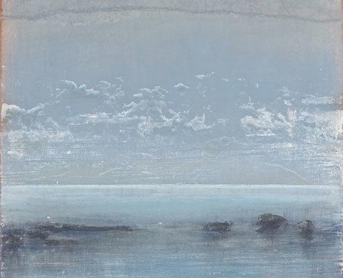 Ferri - Les recifs - 120 x 60 cm - Acrylique sur papier sur toile