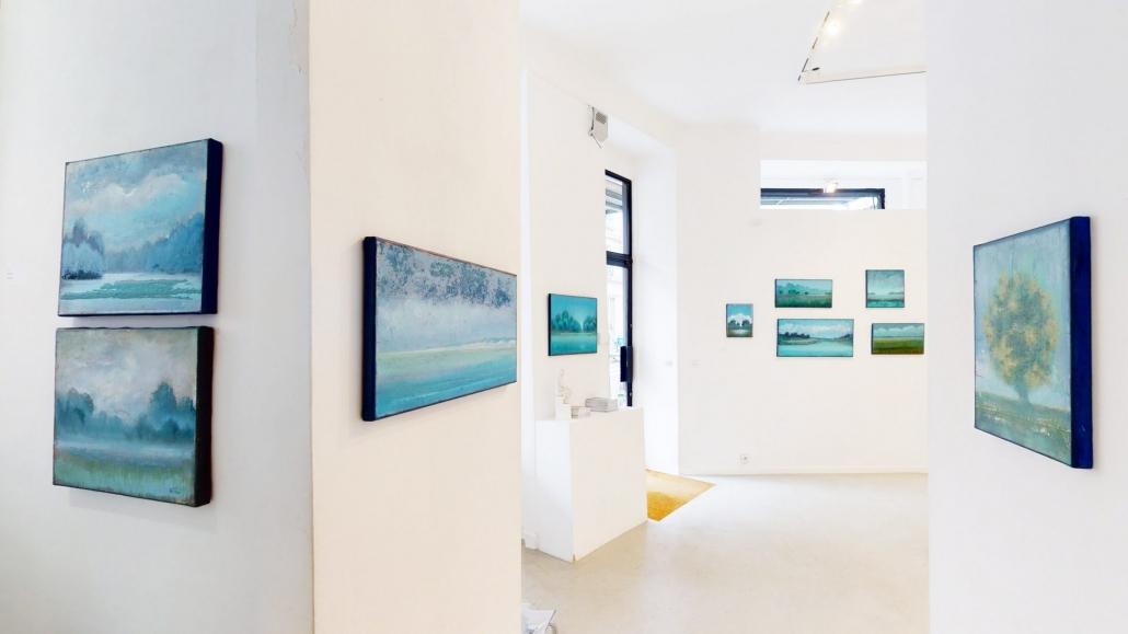 """Exposition de R.Ferri """" Terre de rives"""" Octobre 2020"""