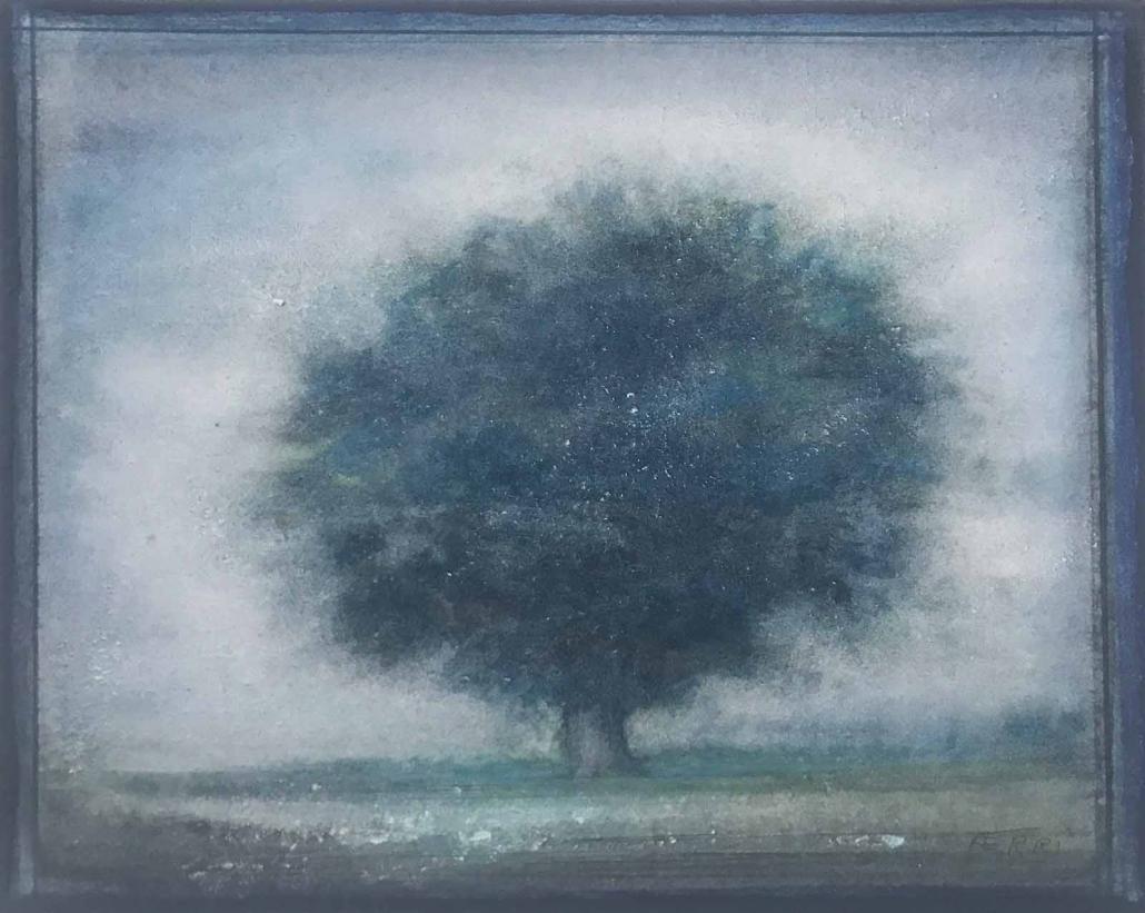 Grand chêne - 24 x 30 cm