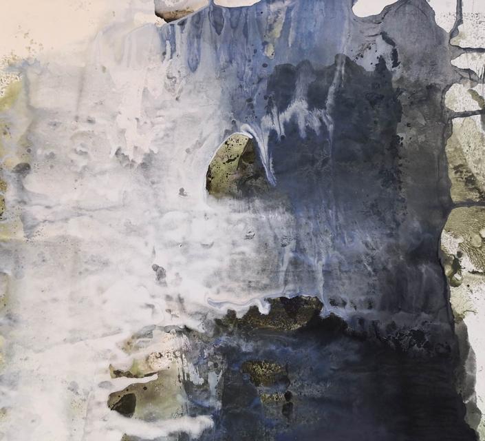 La baignade - Huile et tempera sur carton - 30,9 x 34,3 cm