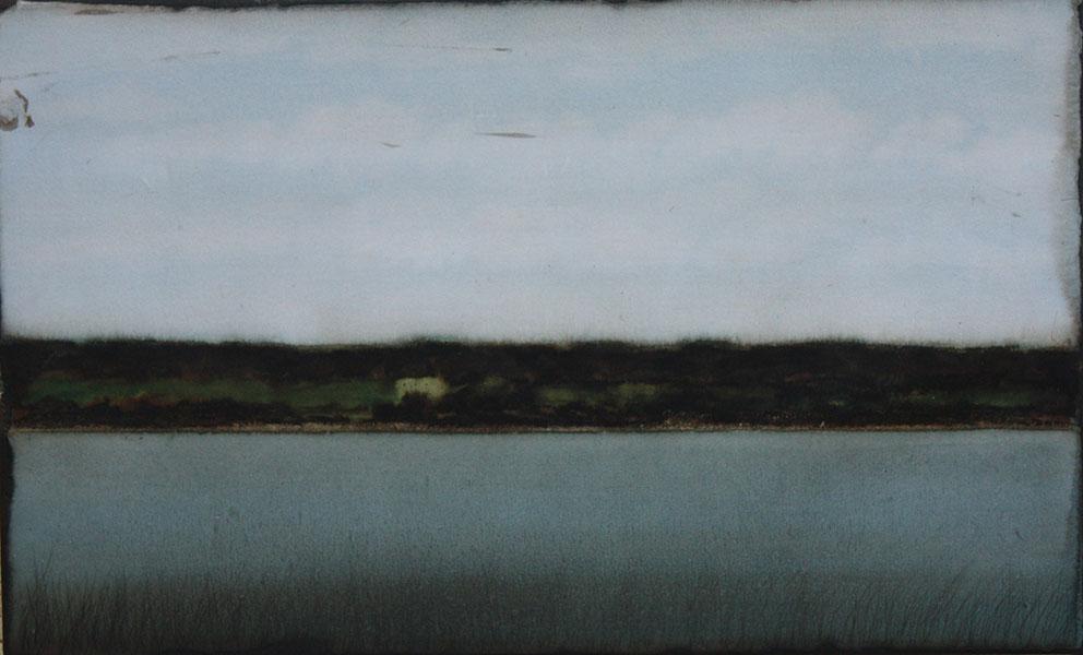 CHEREL - RIVE 3 - 40 x 60 cm - Encre et brou de noix sur papier