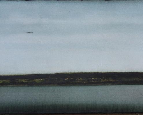 CHEREL - RIVE 2 - 40 x 60 cm - Encre et Brou de noix sur papier