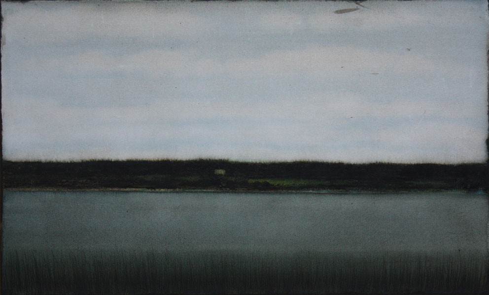 CHEREL - Rive 1 - 40 x 60 cm - Encre et brou de noix sur papier