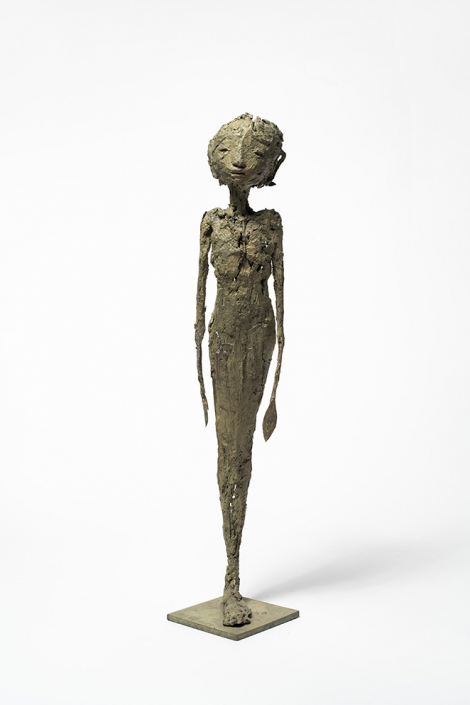 Figure - h:48 cm - Bronze - Pièce unique