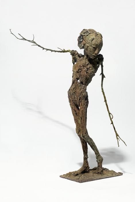 Jeanne Bouchart - H/63 cm - Bronze - pièce unique