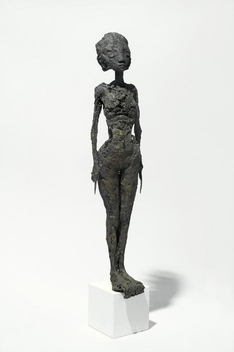 Jeanne Bouchart - H/43 cm - Bronze - pièce unique