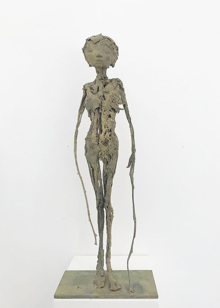 Liane - Bronze - Pièce unique - H/52 cm