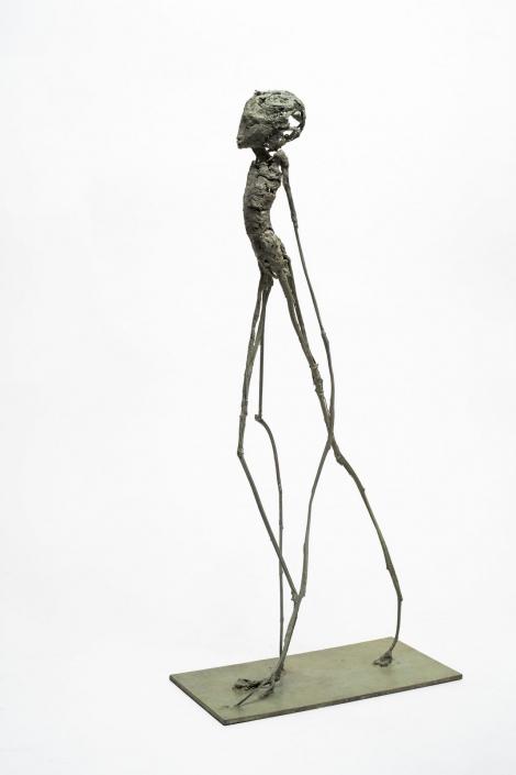 Phasme - h:65 cm - Bronze - Pièce unique