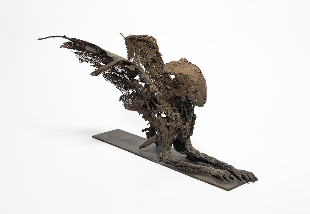 ST - h:25 cm - Bronze - Pièce unique