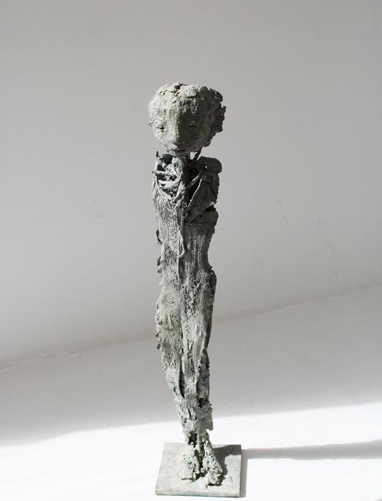 Feuille - Bronze - Pièce unique - H/38 cm