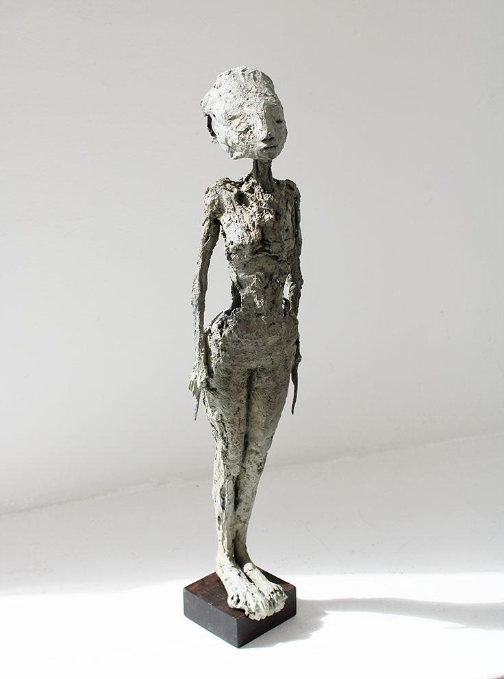 Lames - Bronze - Pièce unique - H/45 cm