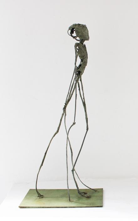 Phasme - Bronze - Pièce unique - H/65 cm