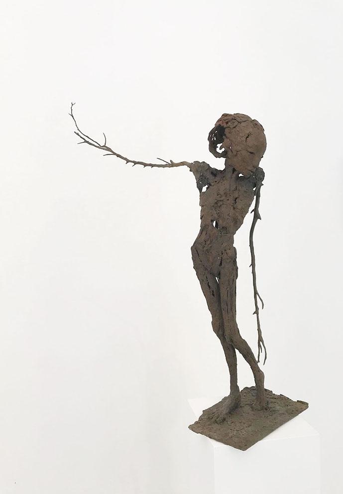 Vuelta - Bronze - Pièce unique - H/65 cm