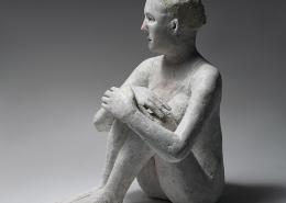 Agnèq Baillon - Méditation - H 35 cm