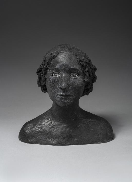 Agnès Baillon - Fetnat - H 23 cm - Papier mâché