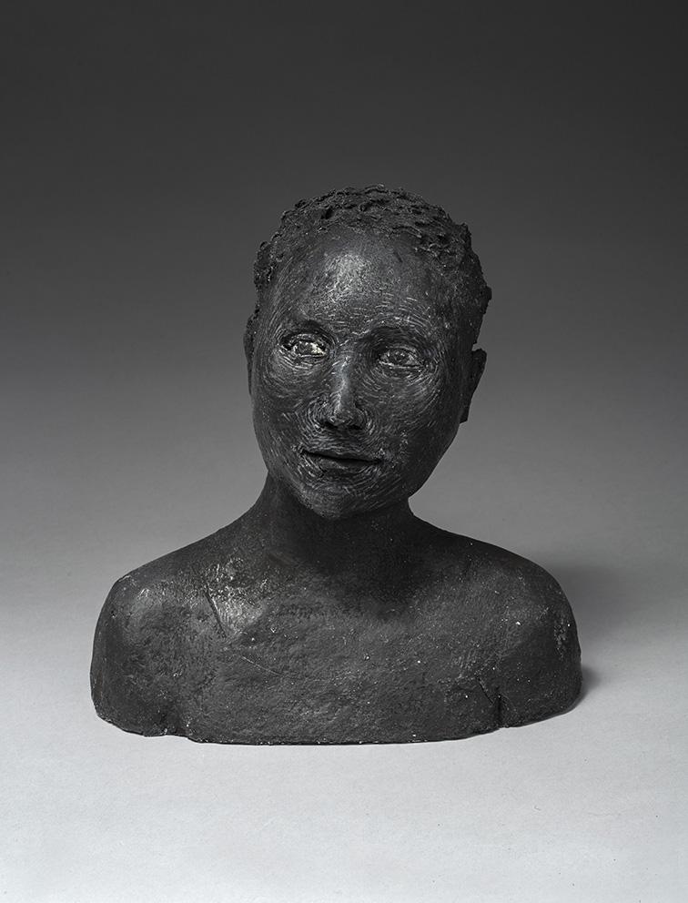 Agnès Baillon - Nativ - H 21 cm - Papier mâché