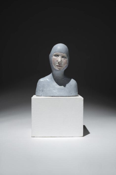 Femme grenouille - H 13 cm