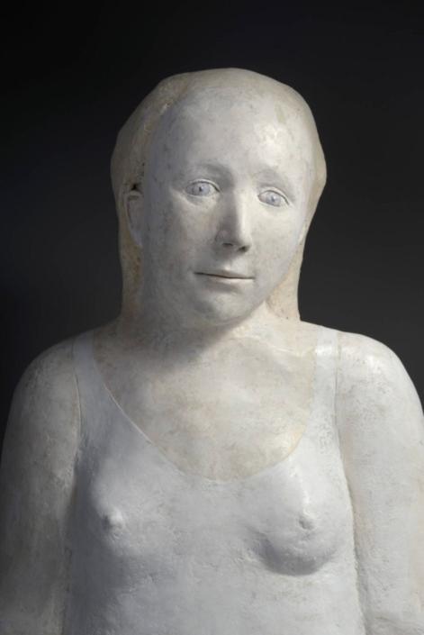 Grand buste de femme - Papier mâché - H 70 cm - 2015-2019