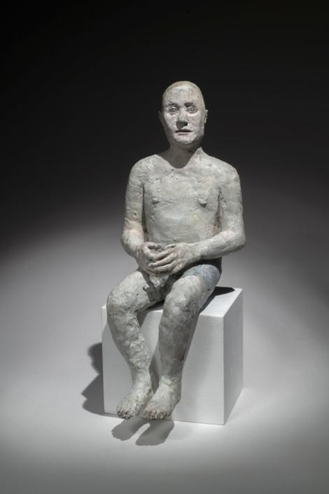Nageur au repos - Bronze - Pièce unique - H 33 cm