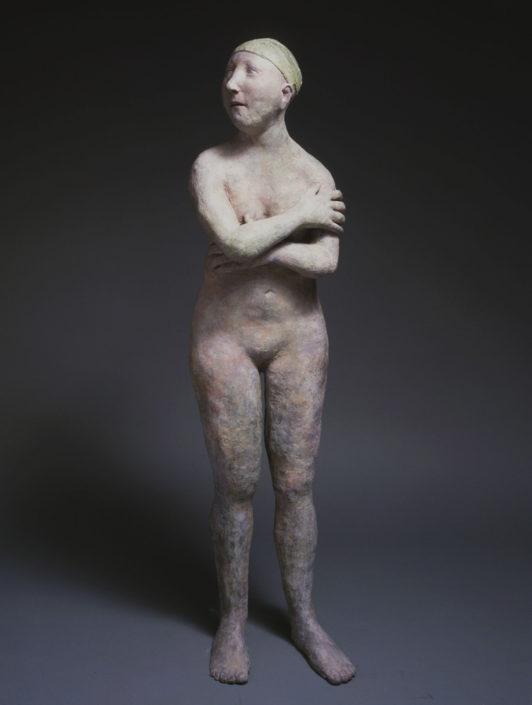 La blessure au bras - h:106 cm - Bronze - Ex 8/8