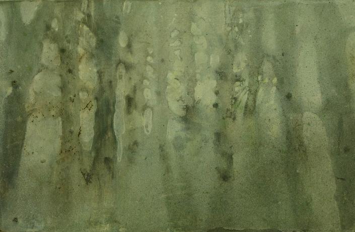 Katarina Axelsson - Stammar 16 - 39 x 55 cm - Acrylique sur bois
