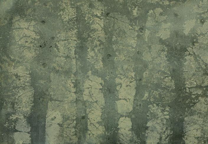 Katarina Axelsson - Stammar 18 - 39 x 50 cm - Acrylique sur bois