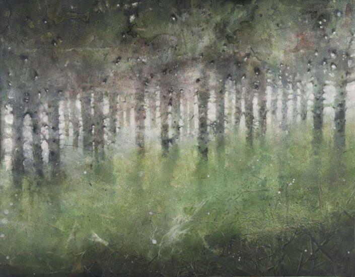 Les 29 reines - 91 x 122 cm - 2016 - Acrylique sur bois