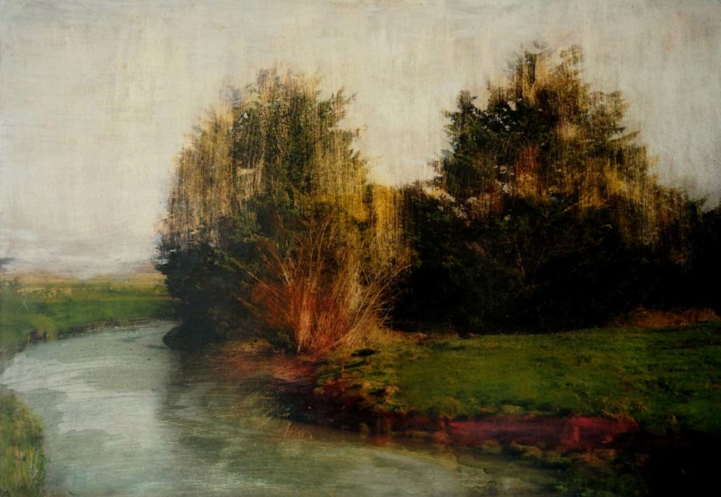 Sur le chemin du marais - 73 x 50 cm - Tirage argentique et acrylique