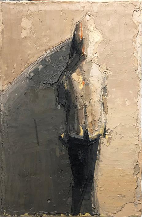 s.t., 2018, olio su tela, cm. 30x20